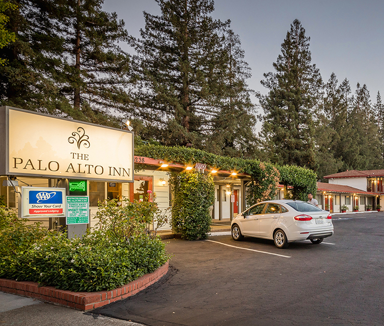 LOCATED IN THE HEART OF PALO ALTO